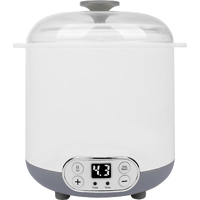 Yogurt Maker Machine 3in1 Yogurt  Cheese & Kefir with Thermostat Digital Display