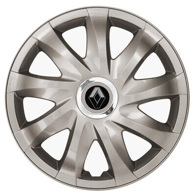 """16"""" Whell trims wheel covers fit Renault Master 2010-on 4x16 inches gunmetal"""