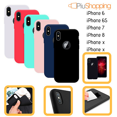 Custodia Cover In Gel Silicone Tpu Per Iphone 6 6S 7 8 X Xs 11 Pro Max Apple