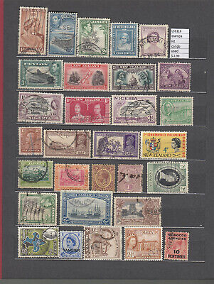 Stamps Lot British Colonies   Used (L36118)