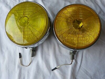 2 anti brouillard ( jaune / yellow ) MARCHAL 720.FOG LIGHTS. occasion