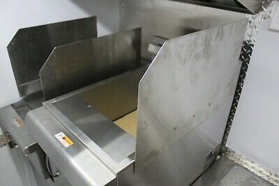 Fryer splash guard