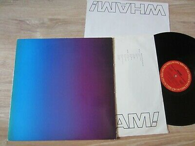 WHAM! '86 original LP canadian MUSIC FROM THE EDGE OF HEAVEN vinyl NM w/ INSERTS