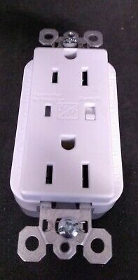 Legrand Pass Seymour 5262WSP TVSS Receptacle with ALARM WHITE 15A 125V FREE SHIP
