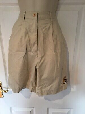 Disney Golf Collection Vintage Chino Shorts Winnie The Pooh 6/8 rare