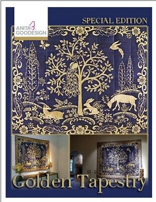 Anita Goodesign - Golden Tapestry - Special Edit- Machine Embroidery Designs Usb