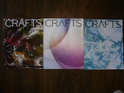 Crafts Magazine Crafts Council issues 277, 278, 279 2019