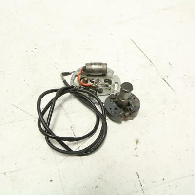 IGNITION ADVANCE ASSEMBLY Points Condenser Harley Ironhead