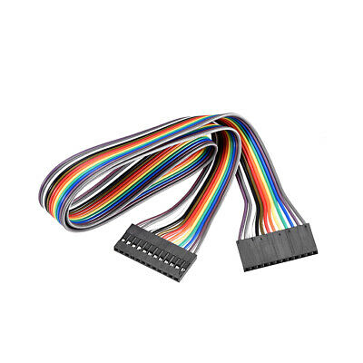 Jumper Wires 12-Pin Female to Female 50cm Ribbon Cables for Breadboard Arduino