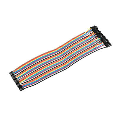 Jumper Wires 40-Pin Female to Female 20cm Ribbon Cables for Breadboard Arduino