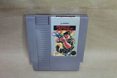 Rush'n Attack (Nintendo Entertainment System, 1987) NES Video Game Cart Only