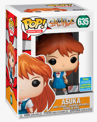 Funko Pop! #635 Neon Genesis Evangelion Asuka Shared Exclusive 2019