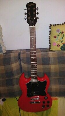 EPIPHONE SG G310 Electric Guitar,Hot Zebra Pickups,BetterTuners,Mo