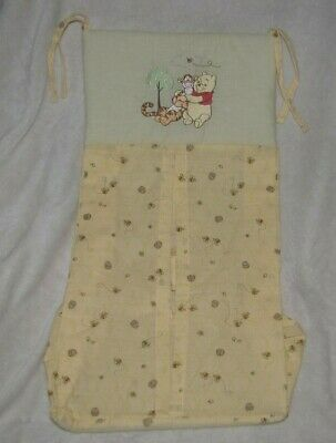 Winnie the Pooh Baby Infant Nursery Decor Diaper Stacker Classic Tigger Bee NWOT