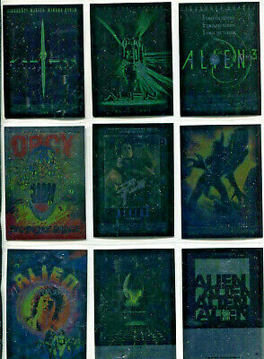 Alien Legacy - Poster Gallery - Chase Complete Card Set (9) - NM