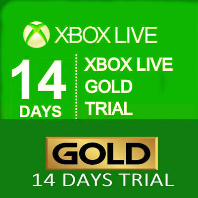X box Live 14 Day Trial Membership Code, 2 weeks 14 Days -