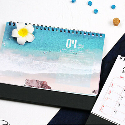 photograph relating to Diy Planner Organizer named 2019 CALENDAR Do it yourself Desktop Routine Organizer Day-to-day Timetable