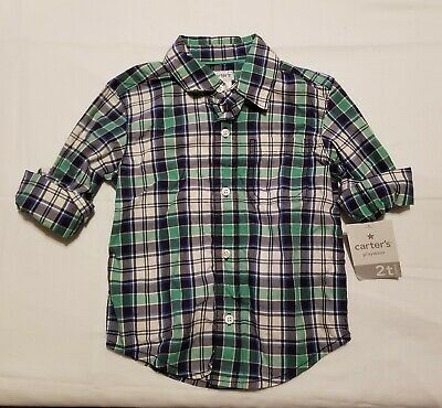 Boys Carters Button Up Size 2t