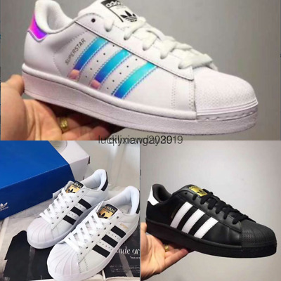 2019 ORIGINALS SUPERSTAR Herren Damen Sneakers Sneakers 7 Farben Eur:37 43+++