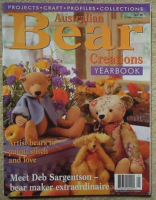AUSTRALIAN BEAR CREATIONS YEARBOOK Vol 5 No 3 INCL. PATTERN SHEET
