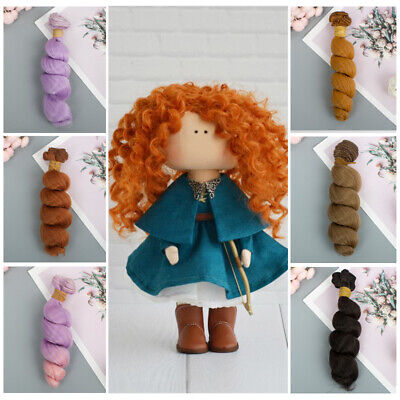 15cm Fashion Curly 1/6 1/4 1/3 Screw Periwig Doll Wigs Wave Tresses Doll Hair~