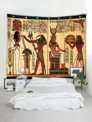Ancient Egypt Printed Tapestry Wall Hanging Tapestry Room Decorative Bedspread