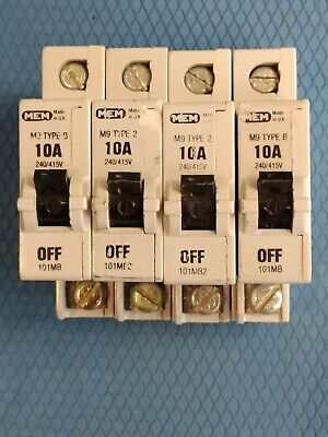 Mem Eaton Bill Delta M9 Memshield1 Mcb. 1 Phase Sp Single Pole