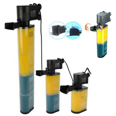 Hidom Submersible Aquarium Internal Pump Filter Filtration Fish Tank 800L/h