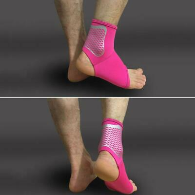 1X Elastic Rubber Ankle Support Protection Sport Sock Running Injury Sprain LA