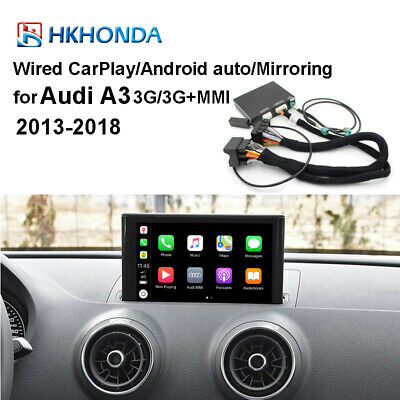 Haobo MuItimedia Interface CarPlay Android Auto Retrofit Kit Fit For Audi A3