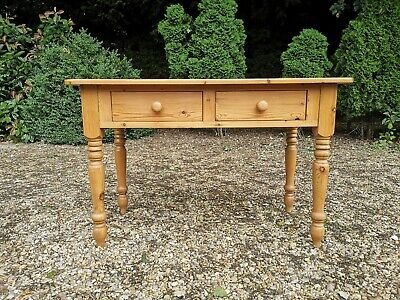 Solid Pine Hall Console Desk Side Table *FREE DELIVERY*