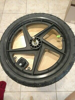 """Baby Trend Jogging Stroller Spare Kenda Replacement Rear Wheel 16"""" Quick Release"""