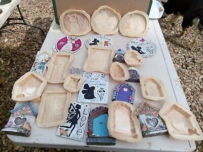 large fairy job lot garden 19New latex moulds home ornaments