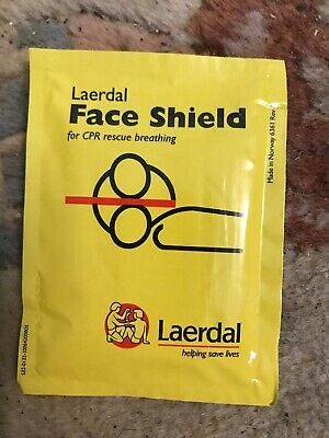 LAERDAL CPR FACE SHIELD Individually packed