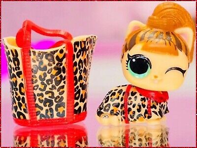 LOL Surprise Doll LIL FIERCE MEOW KITTY Baby LITTLE PETS Dolls MAKEOVER SERIES