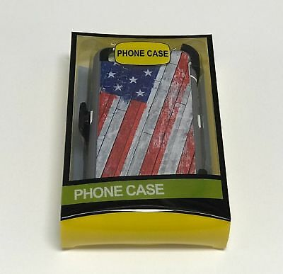 Heavy Duty case Apple iPhone 7/7 Plus(Belt Clip fits Otterbox Defender)USA FLAG