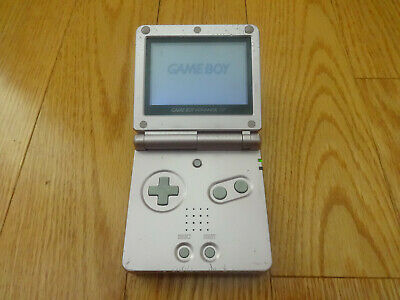 Nintendo GameBoy Advance SP AGS-001 Launch Edition Pearl Pink Handheld System