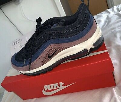 Nike air max 97 grey suede premium UK Size 8 *Rare* *Deadstock*