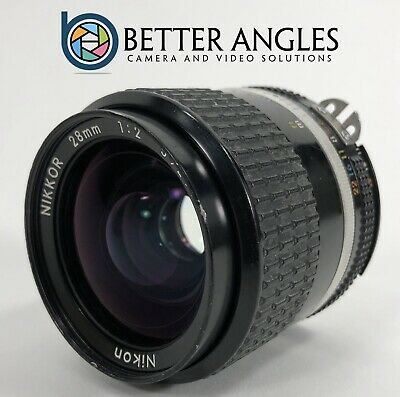 Nikon NIKKOR 28mm f2.0 AI-S f2 Lens-Risk Free Guaranteed!