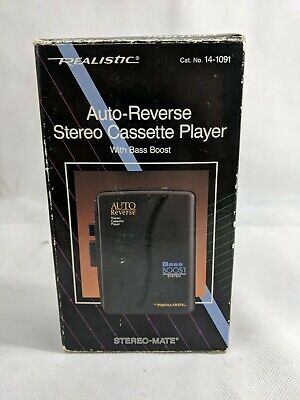 Realistic Stereo-Mate Cassette Recorder Record/Play  SCP-51 - New Old Stock