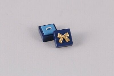 1:6 Scale Ring Jewelery Box Miniature Dollhouse Rement engagement wedding 1:12