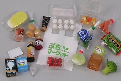 1:6 Scale LOT Miniature Food Rement Groceries Supermarket Grocery Vegetables