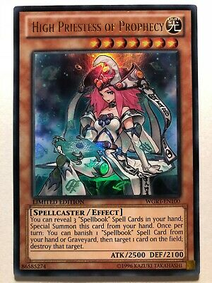 HIGH PRIESTESS OF PROPHECY x3Ultra RareDUPO-EN081 Duel Power YuGiOh
