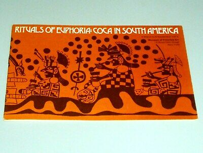 COCA SOUTH AMERICA EXHIBITION OF 67 ARTIFACTS Cocaine COLOMBIA PERU Psychedelic