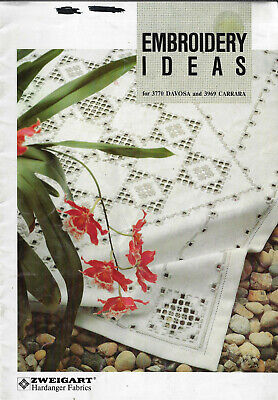 Hardanger Embroidery Ideas - Zweigart softcover booklet