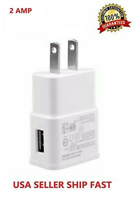 2AMP USB POWER ADAPTER WALL CHARGER For Universal SAMSUNG GALAXY S Note