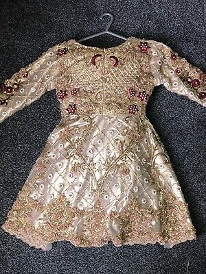 Ladies Formal Pakistani/Indian Wedding Dress/ Ball Gown- Size 8/10