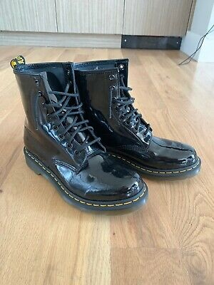 Dr. Martens 1460 Soft Buck 8 Eye Boots Leather 12 NWT