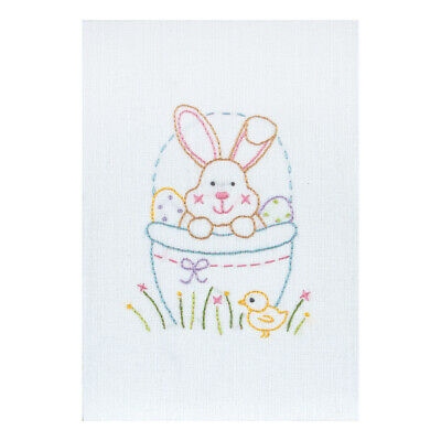 ANCHOR | Embroidery Kit: Easter Bunny Card | RDK43