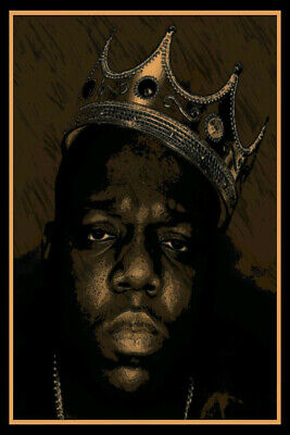 Hot Gift Poster The Notorious BIG Biggie Smalls 40x27 30x20 36x24 F-2606